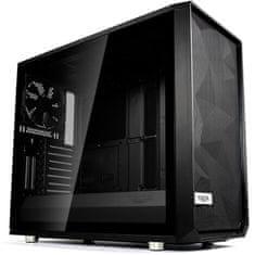 Fractal Design kućište Midi T ATX W/O PSU Meshify S2 TG Dark
