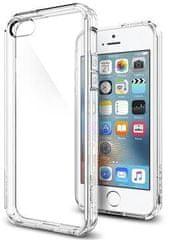 Spigen Ochranný kryt Ultra Hybrid pre Apple iPhone 5, transparentné 041CS20171