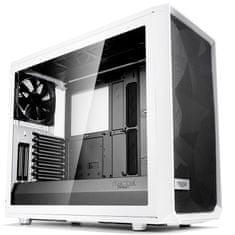 Fractal Design kućište Midi T ATX W/O PSU Meshify S2 white TG clear