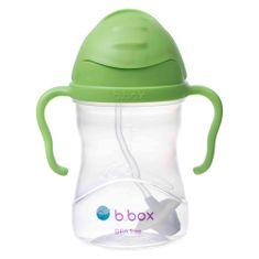 b.box Sippy cup hrneček s brčkem