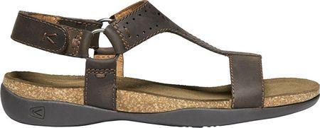 62cbe3f7e51c KEEN Dámske sandále Kaci Ana T-Strap Sandal W Dark Earth (Veľkosť 37 ...