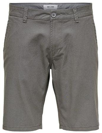 ONLY&SONS Férfi rövidnadrágCam Chino Shorts Entry Re Castlerock (méret 30)