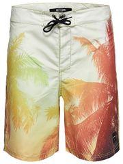 ONLY&SONS Pánske plavkové kraťasy Press Board Swimshorts Nt 2472 Olive Branch