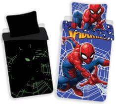 Jerry Fabrics Povlečení Spider-man - svítící efekt