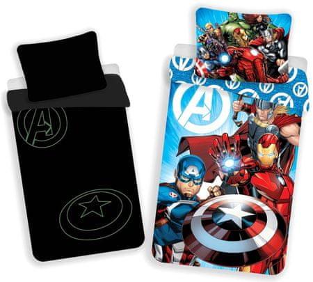Jerry Fabrics Avengers ágyneműhuzat - világító hatás