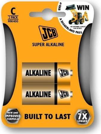 JCB Baterija C (LR14), 2 komada