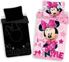 Jerry Fabrics posteljina Minnie - svjetlosni efekt