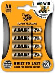 JCB Baterija AA (LR6), 4 komada
