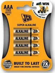 JCB Baterija AAA (LR03), 4 komada