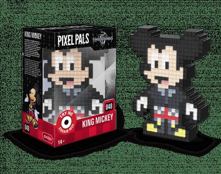 Pixel Pals svetilka Kingdom Hearts, King Mickey