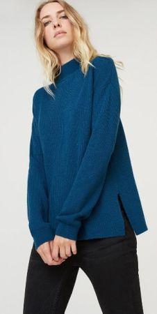 Rodier sweter damski 38 niebieski