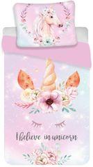 """Jerry Fabrics posteljnina Unicorn """"pink"""""""