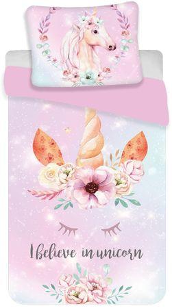 "Jerry Fabrics Unicorn ""pink"" ágyneműhuzat"