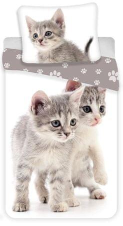 """Jerry Fabrics posteljnina Kitten """"Grey"""""""