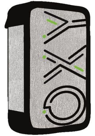 Karton P+P 3 piętrowy piórnik OXY Campus grey