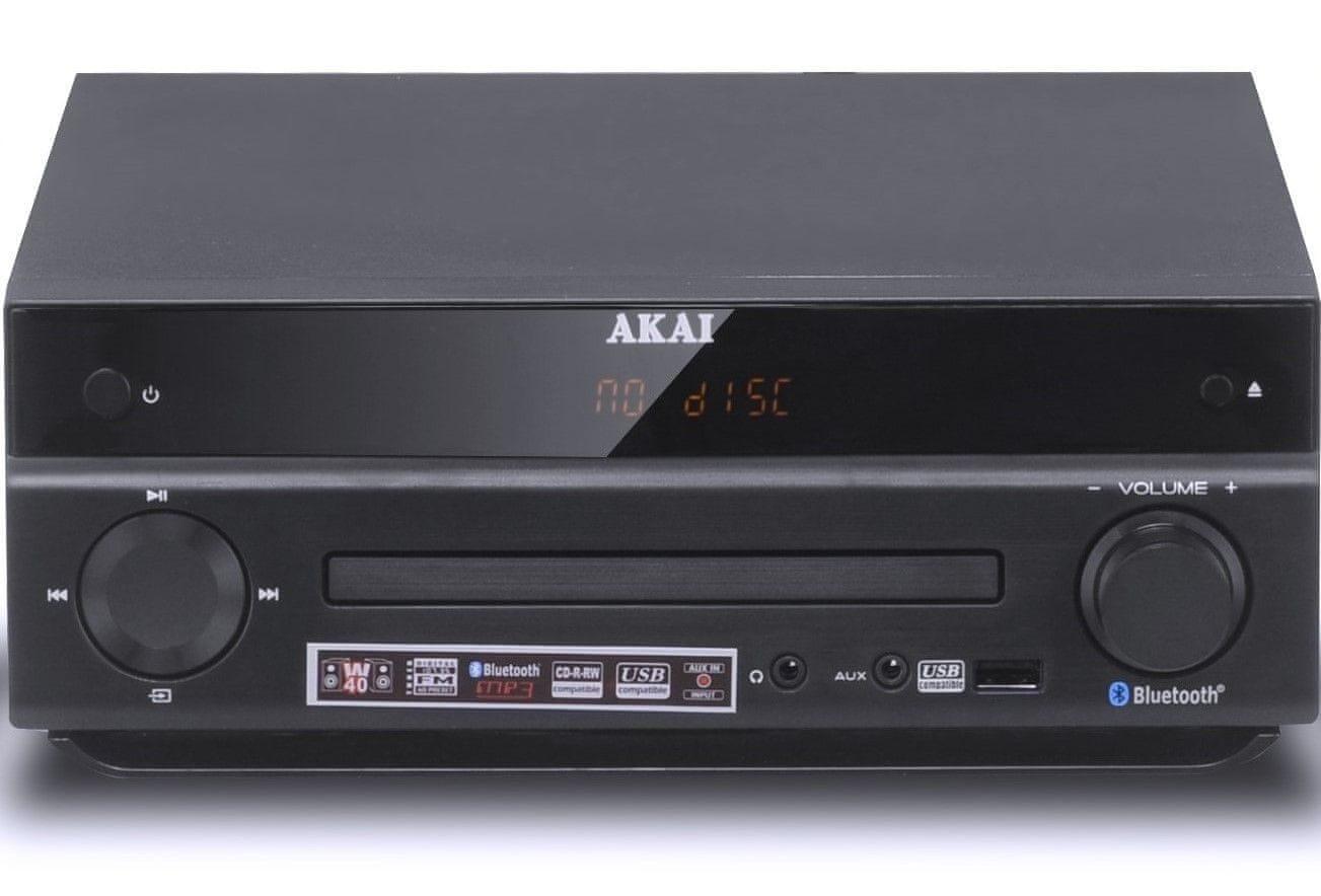 MICRO SYSTEM DIGITAL FM TUNER / CD / MP3 / BLUETOOTH / USB AKAI AM-301 W