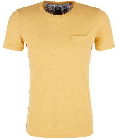 s.Oliver koszulka męska L żółta