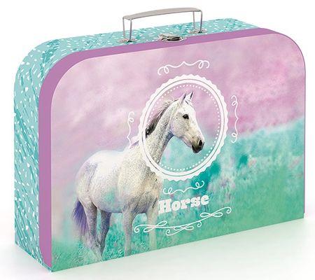 Karton P+P kuferek laminowany Koń romantic