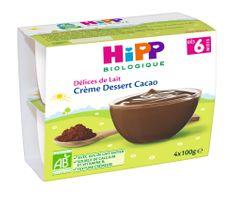 HiPP BIO Mliečny dezert kakaový 6x4x100g