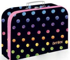 Karton P+P Kufrík lamino 34 cm Oxy Dots colors