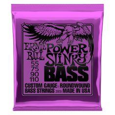 Ernie Ball 2831 Power Slinky Bass Nickel Wound .055 - .110