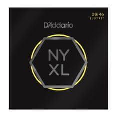 Daddario NYXL0946 Nickel Wound Electric Super Light Top / Regular Bottom, 09-46 struny na elektrickou kytaru