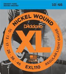 Daddario EXL110 Nickel Wound Electric Regular Light .010-.046 struny na elektrickou kytaru