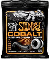 Ernie Ball 2722 Cobalt Slinky .009-.046 struny na elektrickou kytaru