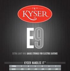 Kyser EXTRA LIGHT E9 Nickel Wound .009-.042 struny na elektrickou kytaru