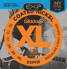 Daddario EXP110 Coated Nickel NY Steel Electric Regular Light .010-.046 struny na elektrickou kytaru