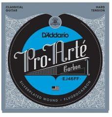 Daddario D'Addario EJ46FF Pro-Arte Carbon Hard Tension - nylonové struny na klasickou kytaru
