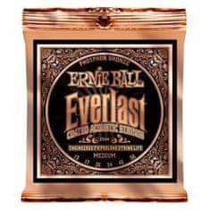 """Ernie Ball 2544 Everlast Phosphor Bronze Medium Coated /13-56/ - """"potažené"""" struny na akustickou kytaru"""