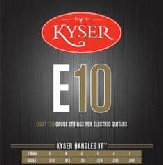 Kyser LIGHT E10 Nickel Wound .010-.046 struny na elektrickou kytaru