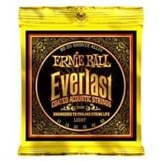 "Ernie Ball 2558 Everlast 80/20 Bronze Light Coated /11-52/ - ""potažené"" struny na akustickou kytaru"