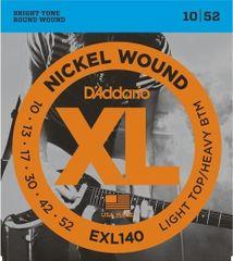 Daddario EXL140 Nickel Wound Electric Light Top-Heavy Bottom .010-.052 struny na elektrickou kytaru