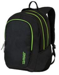 Target ruksak 3 Zip Duel Lime, žuti, 26194