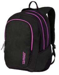 Target ruksak 3 Zip Duel Pampero, ružičasti, 26190