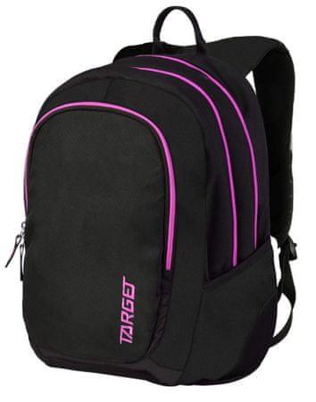 Target nahrbtnik 3 Zip Duel Pampero, roza, 26190