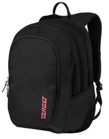 Target ruksak 3 Zip Duel, crveni, 26191