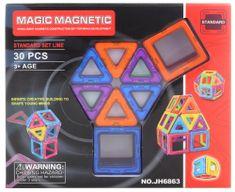 Lamps Magnetická stavebnice 30 ks