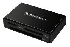 Transcend čitač kartica RDF8, USB 3.1/3.0, micro USB v USB Type A, crni