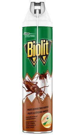 Biolit Sprej proti lezúcemu hmyzu s aplikátorom 400 ml
