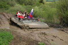 Adrop.sk Jazda obrneným transportérom BVP Námestovo
