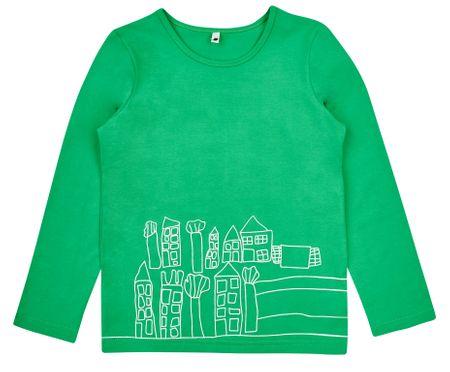 Garnamama dievčenské tričko 140 zelená