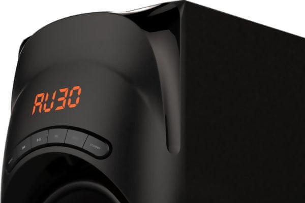 akai ht014a-5086f hangszórórendszer 5.1 bluetooth jel 10 m usb port SD kártyaolvasó a televízióhoz és a pc-hez