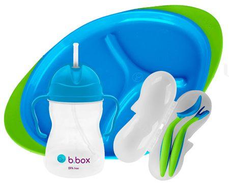 b.box jídelní sada modrá