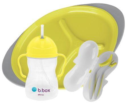 b.box jídelní sada žlutá