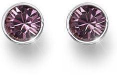 Oliver Weber Ocean Uno bedugós rózsaszín kristályos fülbevaló 22623 920
