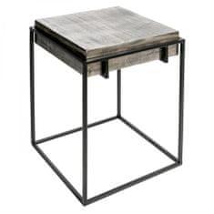 Papillon Hliníkový odkladací stolík Millenium, 42,5 cm