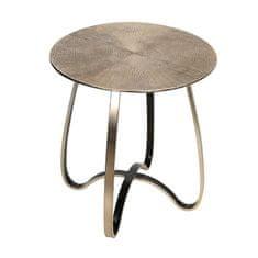 Papillon Hliníkový odkladací stolík Delight, 46 cm, champagne